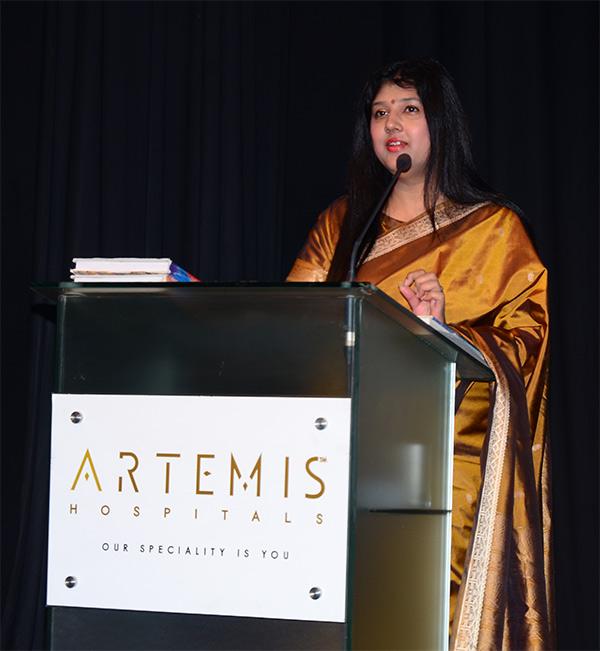 Varsha Sangal Seminar in Artemis Hospital Gurgaon